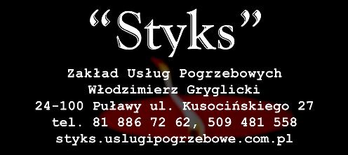Zakład Pogrzebowy Styks Puławy